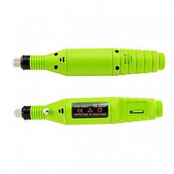 Машинка для маникюра и педикюра 6 в 1, фрезер ручка Зелёный