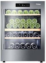 Винотека Haier WS50GDAI 82 см/50 пляшок/А/2 темп.зони/ Температура 5-20 С/дисплей/нерж.сталь