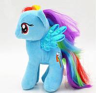 Мягкая игрушка My Little Pony Радуга Rainbow Dash Май Литл Пони 18 см 00031