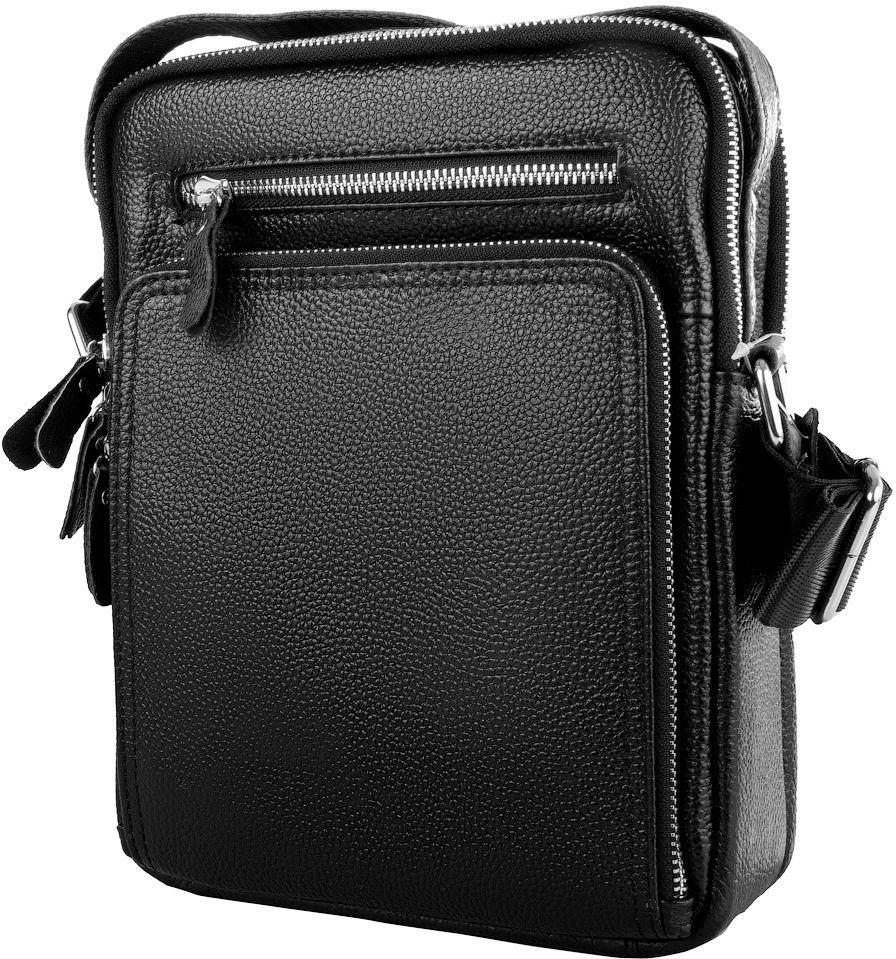 fd61a4886e67 Мужская сумка ETERNO RB-M5608-1A, на плечо, кожаная, черная — только ...