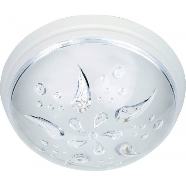 Светильник пластиковый Уфо Роза Ветров  белая.