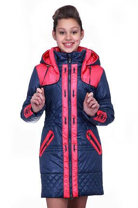 Детская демисезонная куртка на девочку, фото 2