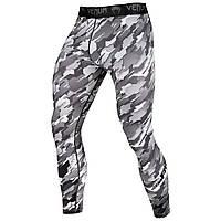 Компрессионные штаны Venum Challenger Spats Grey (VENUM-03144-109), фото 1
