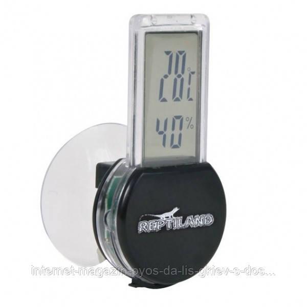 Цифровой термо\гигрометр для террариумов, 3х6 см