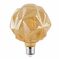 "Лампа  ""RUSTIC CRYSTAL-6"" 6W Filament led 2200К  E27"