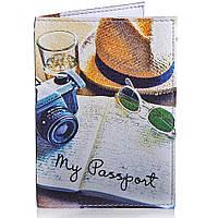 Обложка для паспорта Passporty Мужская обложка для паспорта PASSPORTY (ПАСПОРТУ) KRIV148