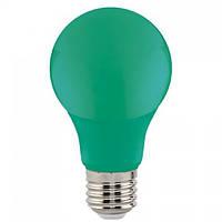 "Лампа Светодиодная ""SPECTRA""3W E27 A60 (зеленая)"