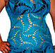 """Вязаное крючком пляжное платье с ажурными принтами """"паук"""" ручной работы, фото 2"""