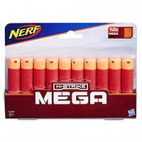 Стрелы Нерф Nerf N-Strike Elite Mega Series Dart 10 шт. Hasbro A4368