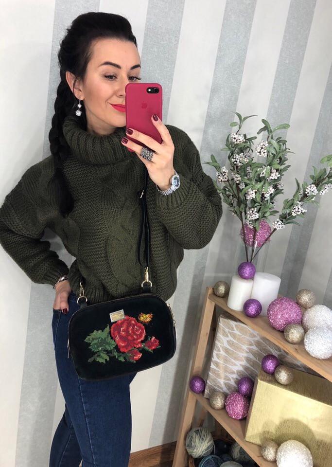 Женский шикарный свитер РАЗНЫЕ ЦВЕТА(Фабричный Китай ) Код 0270