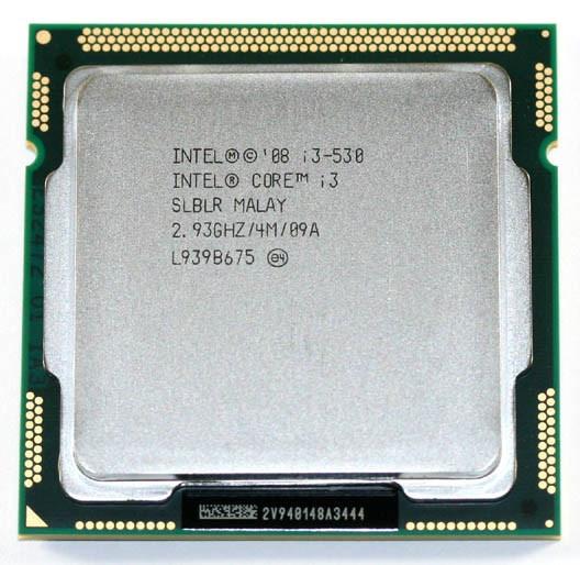 """Процессор Intel Core  i3-530 2.93GHz/4MB/1333MHz Socket LGA1156  """"Over-Stock"""" Б/У"""