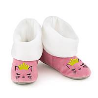Домашние тапочки с манжетом Кошка принцесса