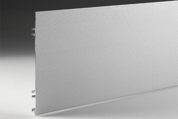 Профиль цокольный алюминиевый 100мм