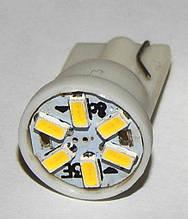 Автомобильный светодиод W5W 6-SMD (3014)(T10)