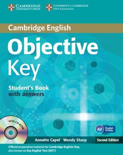 Objective Key Second Edition Student's Book with answers and CD-ROM