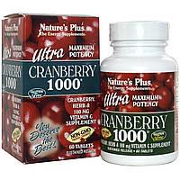 Суперконцентрат клюквы, Nature's Plus, 1000 мг, 60 таблеток