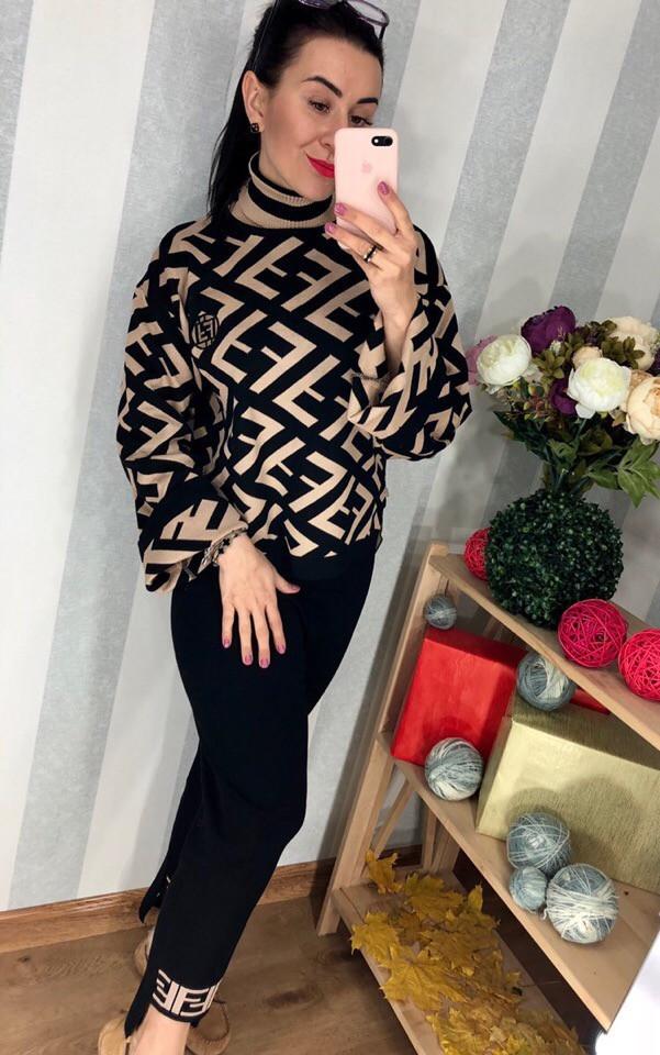 Женский стильный свитер РАЗНЫЕ ЦВЕТА(Фабричный Китай ) Код 0254