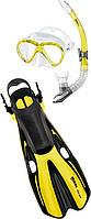 Набор  VOLO ONE MAREA  p.SM 35/38 (маска + трубка) для подводного плавания (желтый)