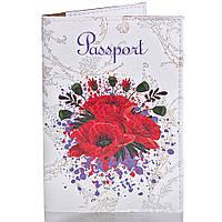 Обложка для паспорта Passporty Женская обложка для паспорта PASSPORTY (ПАСПОРТУ) KRIV008