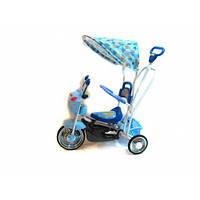Детский велосипед трехколесный B 3-9 / 6012B  (Голубой)