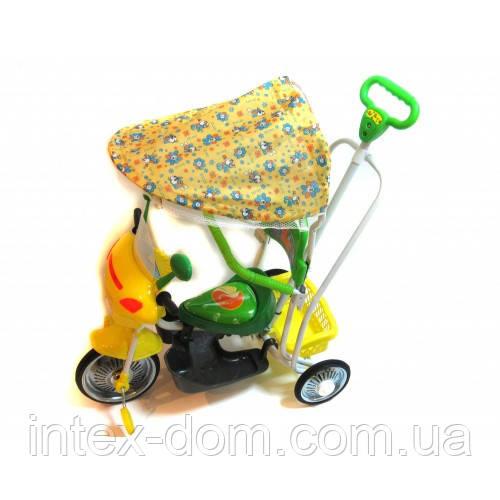 Детский велосипед трехколесный B 3-9 / 6012G  (Зелёный)