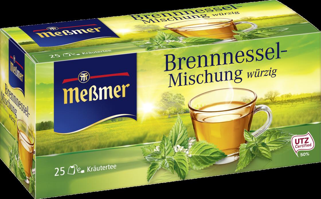 Чай Messmer Травяной чай, жалящая смесь крапивы