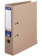 Папка регистратор А4 Люкс Economix 70 мм бежевая E39723*-66