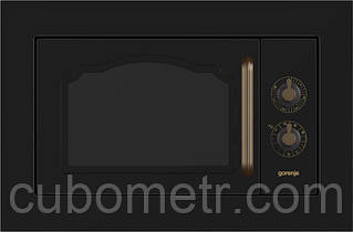 Встраиваемая м/печь Gorenje  BM235CLB/23 л/800 Вт. /гриль-1100 Вт./механич. упр-ние/черная
