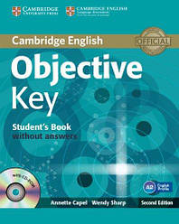 Objective Key Second Edition Student's Book without answers with CD-ROM