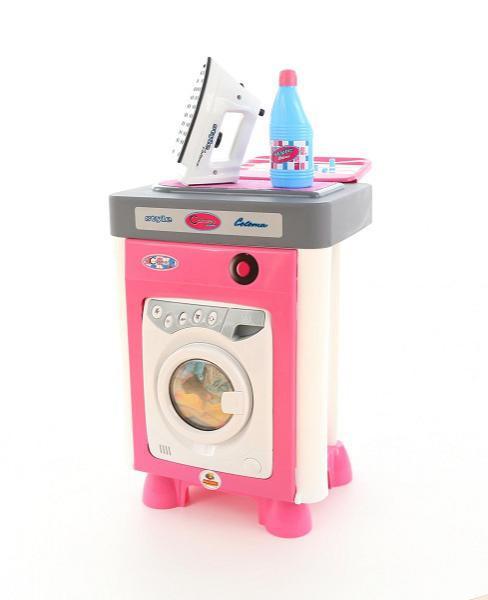 Стиральная машина игрушечная с аксессуарами Wader 47939