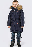 Парка зимняя для мальчика X-Woyz DT-82711