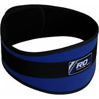 Пояс для тяжелой атлетики RDX Blue, фото 1