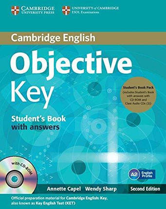 Objective Key Second Edition Student's Book with answers and CD-ROM and 2 Class Audio CDs, фото 2