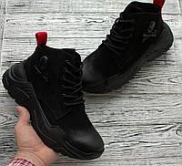 Мужские кроссовки philipp plein до -5 Зима 2019 Материал Натуральная замшевая кожа Размеры 42, 44, 45