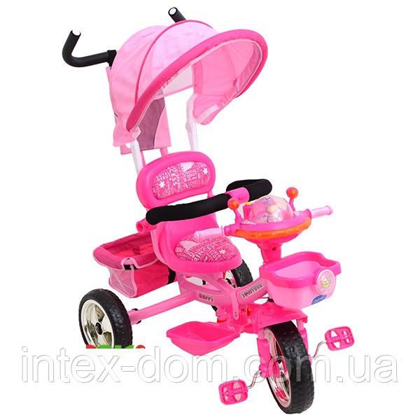 Трехколесный велосипед Profi Trike  B29-1B-1C (Розовый)
