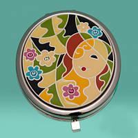 Зеркало Девушка в цветах