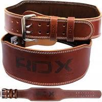 Пояс для тяжелой атлетики RDX Brown, фото 1