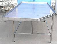 Формовочный усиленный стол 2200х1150 из нержавеющей стали, фото 1