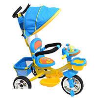 Трехколесный велосипед Profi Trike B29-1B-1B  (Синий )