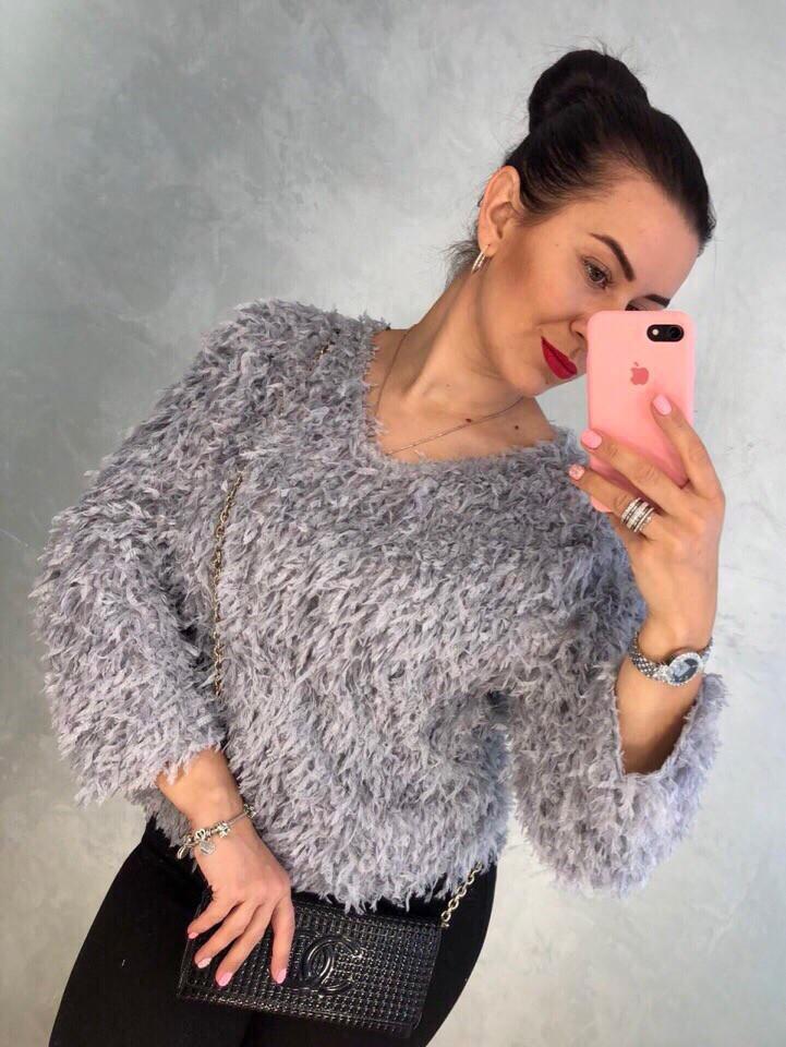 Женский модный свитер РАЗНЫЕ ЦВЕТА(Фабричный Китай ) Код 0117