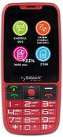 Мобильный телефон Sigma mobile Comfort 50 Elegance 3 Red