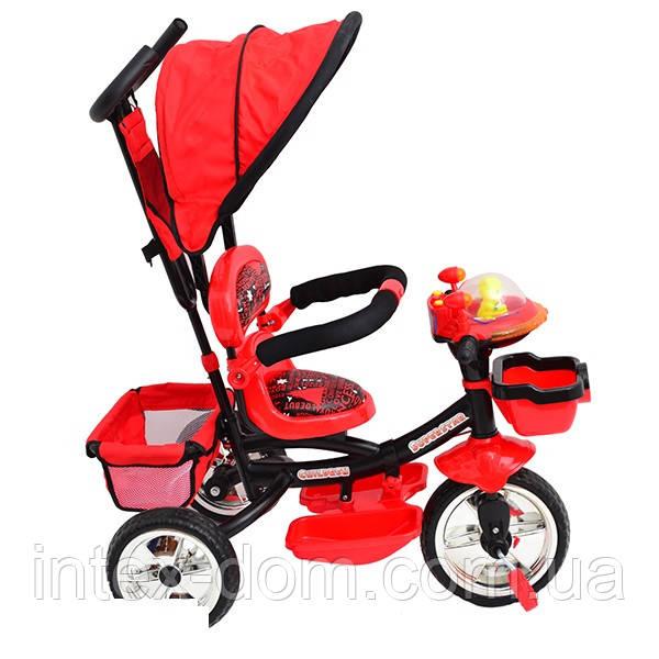 Трехколесный велосипед Profi Trike B29-1B-2R  (Красный)