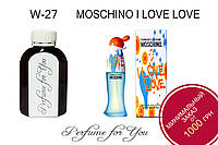 Женские наливные духи Cheap & Chic I Love Love Moschino 125 мл
