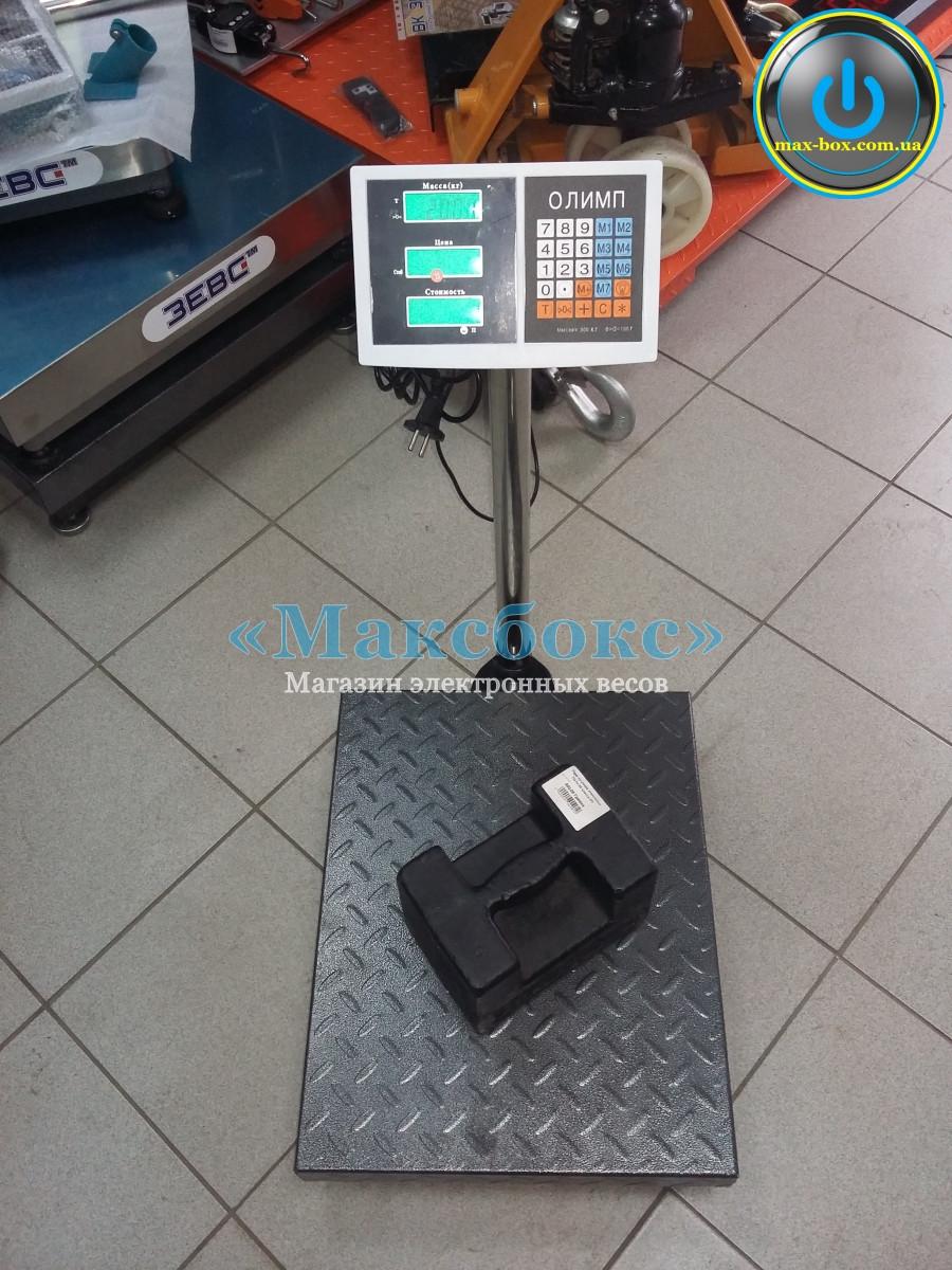 Весы для приемки до 300 кг Олимп МВ-8