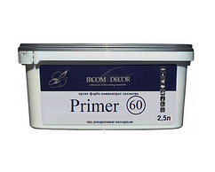 Грунт с мраморной мукой ІРКОМ PRIMER 60 для декоративных покрытий 0,8 л
