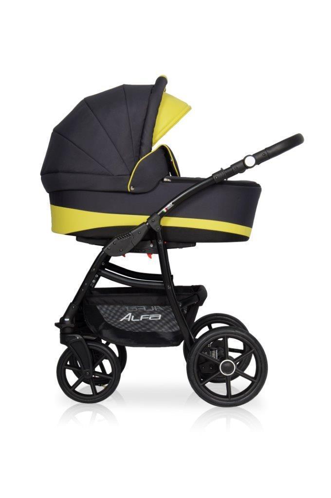e95e4617c Детская универсальная коляска 2 в 1 Riko Alfa Ecco 10 - Интернет-магазин  ESTRELA в