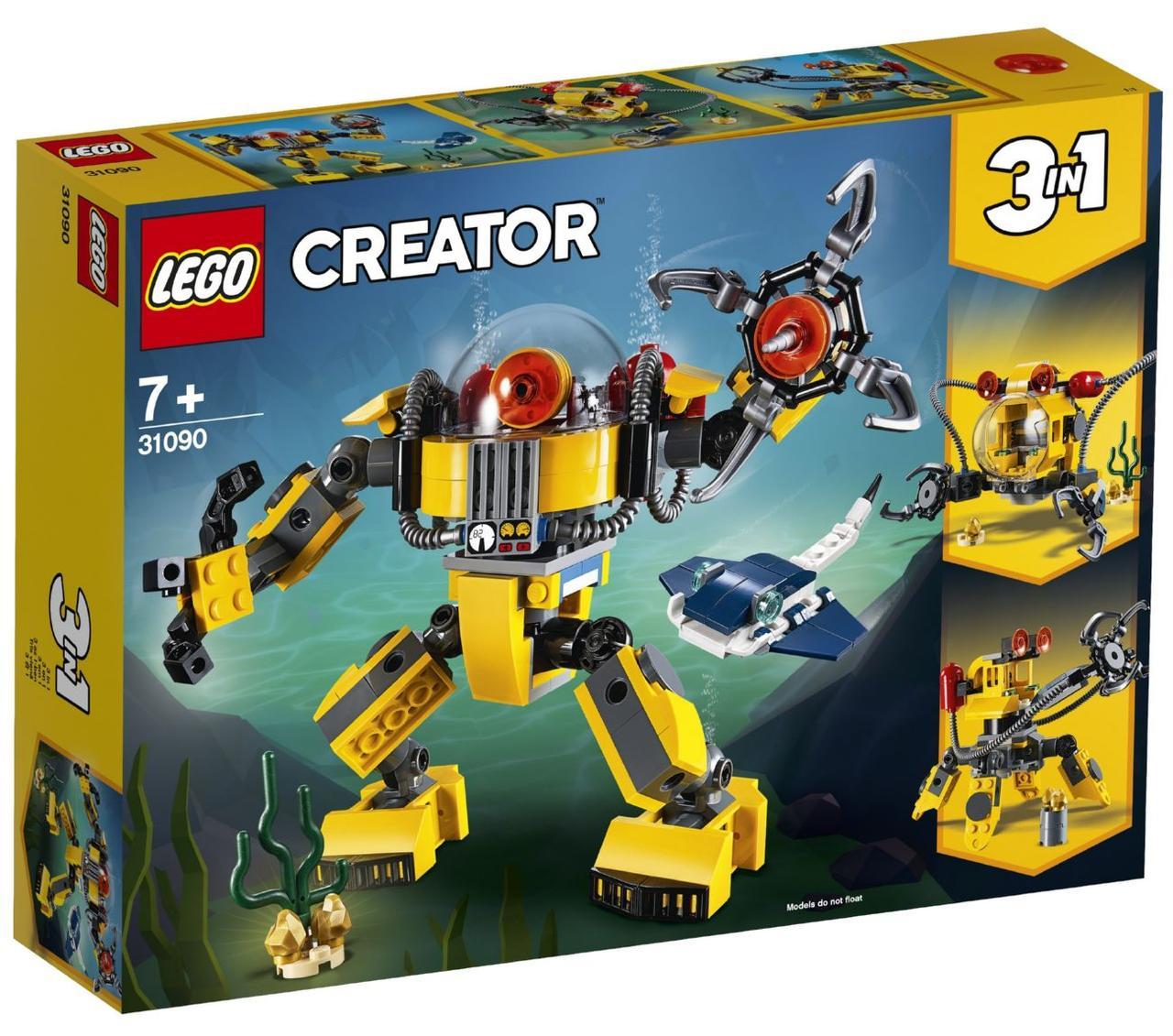 Lego Creator Робот для підводних досліджень 31090