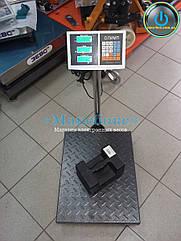 Підлогові ваги торговельні 300 кг Олімп МВ