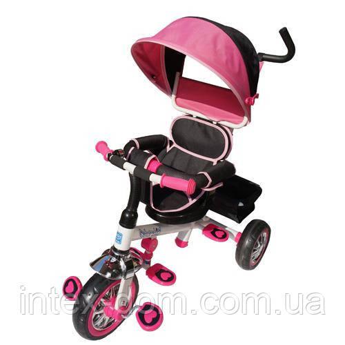 Трехколесный велосипед Bambi B32-TM-3 Розовый