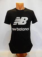 Мужская футболка однотонная NEW BALANCE черная